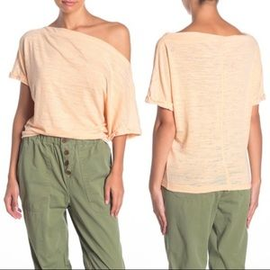 NWT Free People Astrid Tee